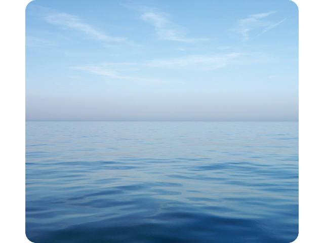MUISMAT FELLOWES NATUUR BLAUWE OCEAAN 228X203MM