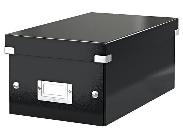DVD-BOX LEITZ CLICK&STORE 190X135X320MM ZWART