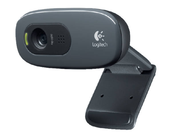 WEBCAM LOGITECH C270 HD 720P ZWART