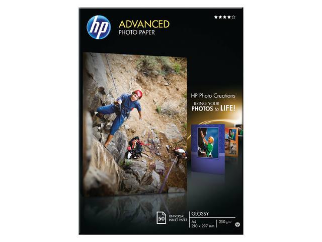 FOTOPAPIER HP Q8698A A4 250GR GLANS