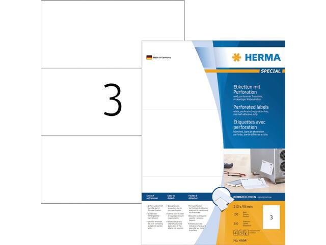 ETIKET HERMA 4664 210X99MM 300ST 1