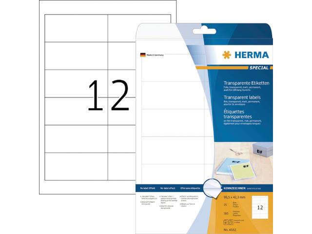 ETIKET HERMA 4682 97X42.3MM 300ST