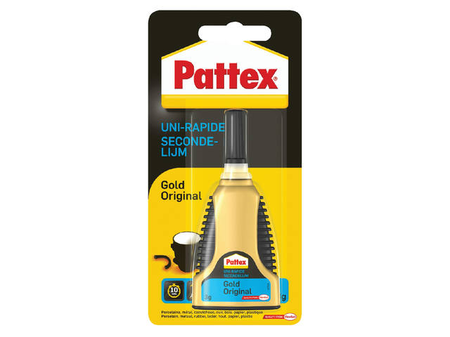 SECONDELIJM PATTEX GOLD ORIGINAL 3GR