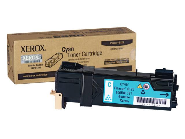 TONERCARTRIDGE XEROX 106R01331 1K BLAUW 1