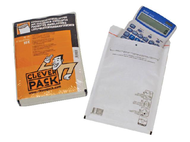 ENVELOP CLEVERPACK LUCHTKUSSEN 14 200X275 WIT