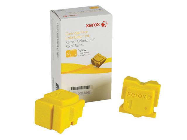 TONERCARTRIDGE XEROX 108R00933 2.2K 2X GEEL