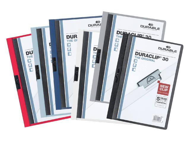 KLEMMAP DURABLE 2200 A4 PL/TR 3MM DONKERGROEN 2