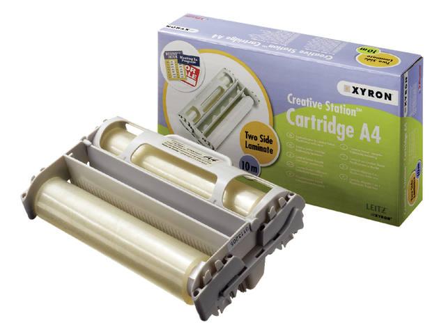 LAMINEERCASSETTE XYRON A4 2X80MIC 10MTR
