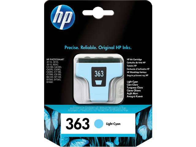 INKCARTRIDGE HP 363 C8774EE LICHT BLAUW