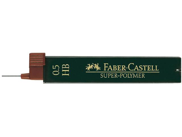 POTLOODSTIFT FABER CASTELL 0.5MM HB