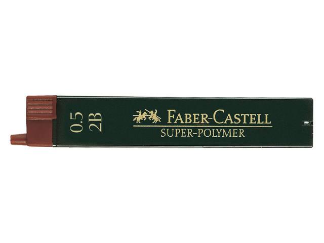 POTLOODSTIFT FABER CASTELL 0.5MM 2B