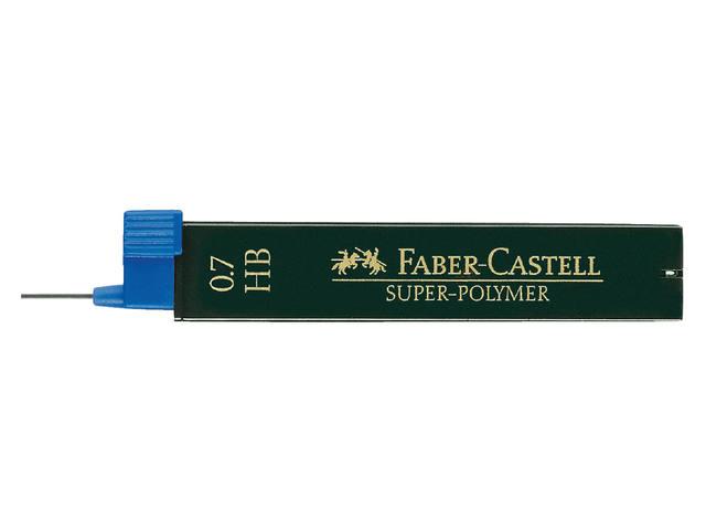 POTLOODSTIFT FABER CASTELL 0.7MM HB