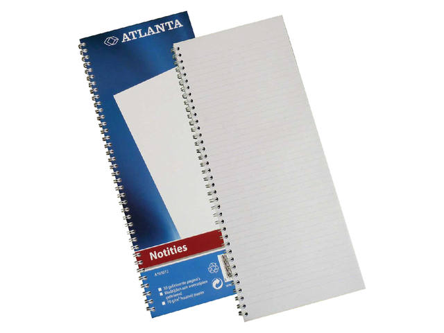 REGISTER SMALFOLIO A1030-12 SPIRAAL 50BLAD BLAUW