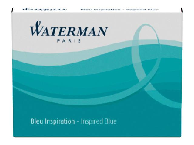 INKTPATROON WATERMAN INTERNATIONAAL ZUIDZEEBLAUW