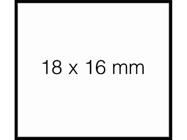 PRIJSETIKET SATO DUO 16 AFNBR TBV PB216 16X18MM