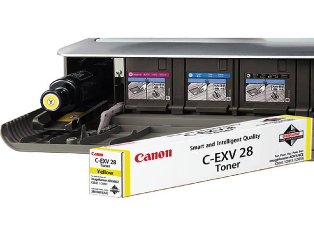 TONERCARTRIDGE CANON C-EXV 28 38K GEEL 1