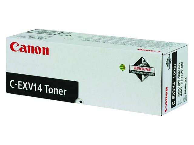 TONERCARTRIDGE CANON C-EXV 14 8.3K ZWART 1