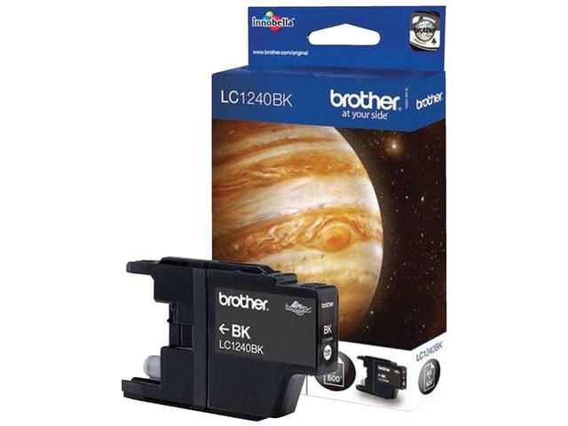 INKCARTRIDGE BROTHER LC-1240 ZWART