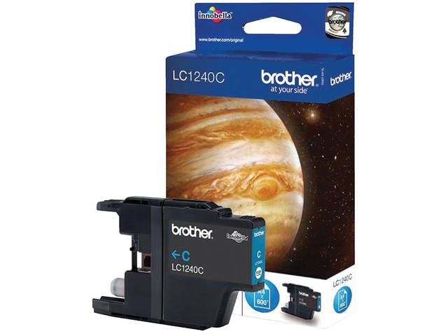 INKCARTRIDGE BROTHER LC-1240 BLAUW