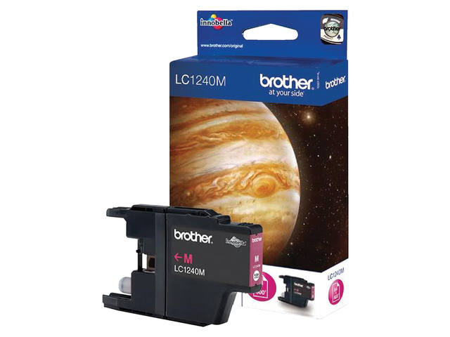 INKCARTRIDGE BROTHER LC-1240 ROOD 1