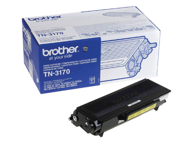 TONER BROTHER TN-3170 7K ZWART 1