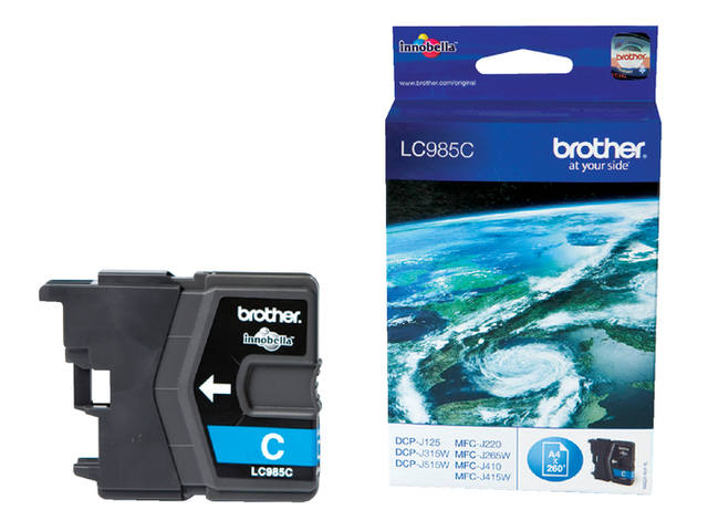 INKCARTRIDGE BROTHER LC-985 BLAUW