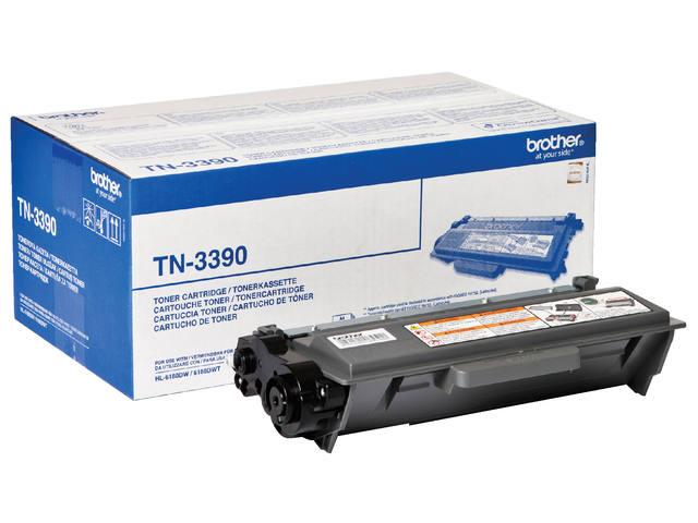TONER BROTHER TN-3390 12K ZWART