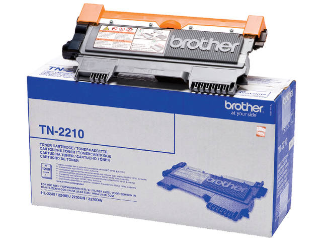 TONER BROTHER TN-2210 1.2K ZWART 1
