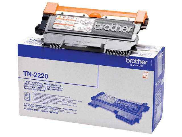 TONER BROTHER TN-2220 2.6K ZWART