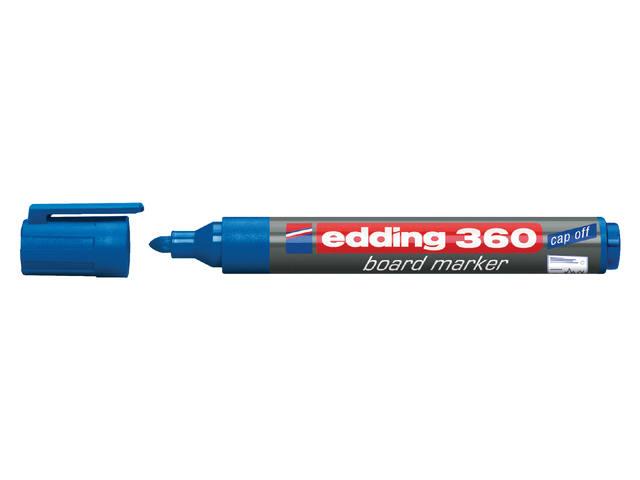 VILTSTIFT EDDING 360 WHITEBOARD ROND 1.5-3MM BLAUW 1