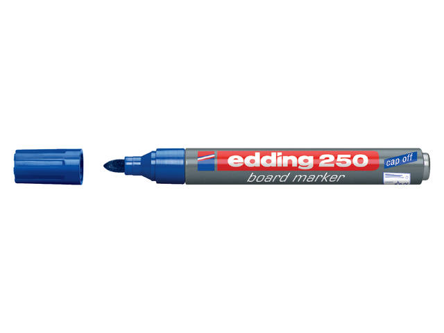 VILTSTIFT EDDING 250 WHITEBOARD ROND 1.5-3MM BLAUW 1