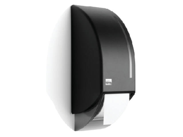 DISPENSER SATINO BLACK SYSTEEMROL