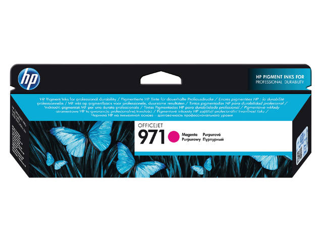 INKCARTRIDGE HP 971 CN623AE ROOD