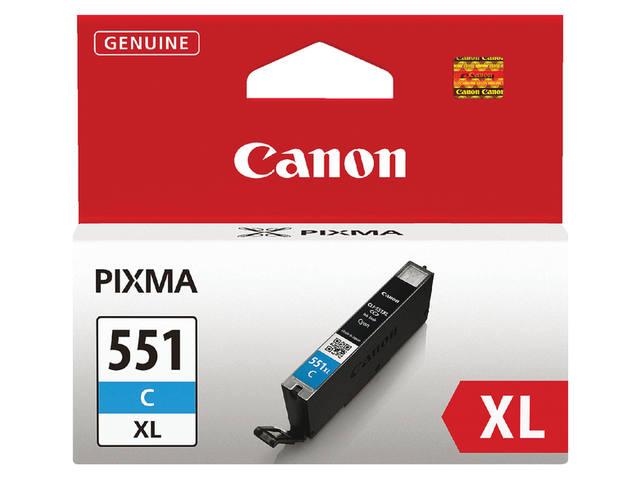 INKCARTRIDGE CANON CLI-551XL HC BLAUW