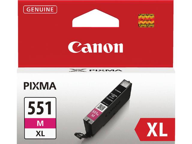 INKCARTRIDGE CANON CLI-551XL HC ROOD
