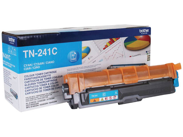 TONER BROTHER TN-241 1.4K BLAUW