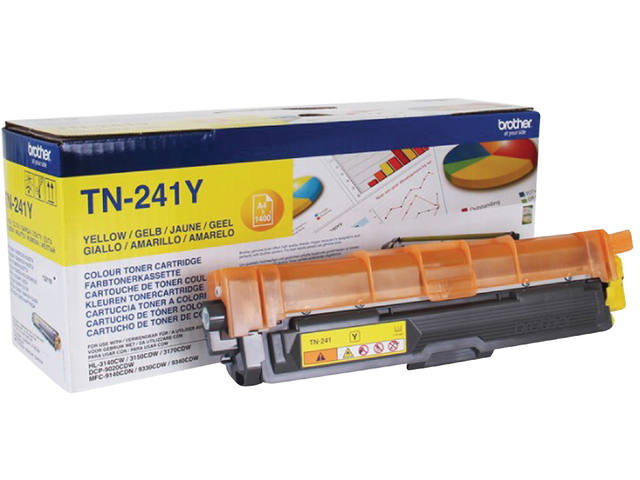 TONER BROTHER TN-241 1.4K GEEL