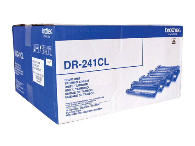 DRUM BROTHER DR-241CL ZWART 3 KLEUREN