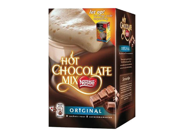 CHOCOLADE NESTLE HOT CHOCOLADE MIX