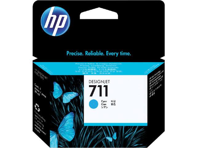 INKCARTRIDGE HP 711 CZ130A BLAUW
