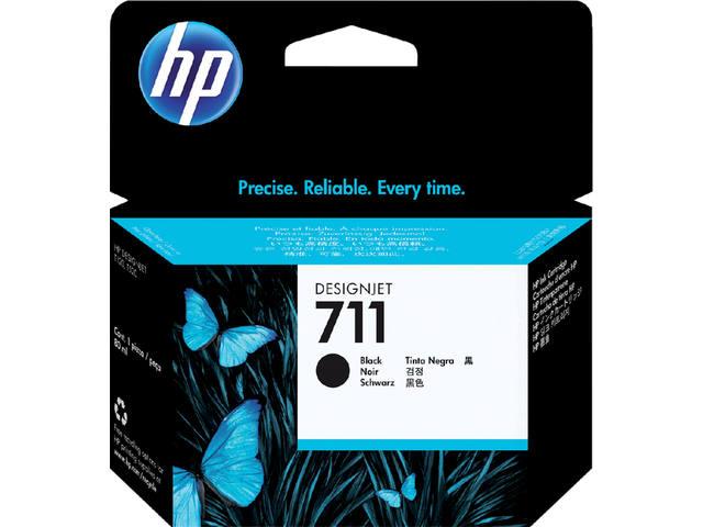 INKCARTRIDGE HP 711 CZ133A HC ZWART