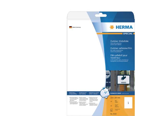 ETIKET HERMA 9500 210X297MM 10ST