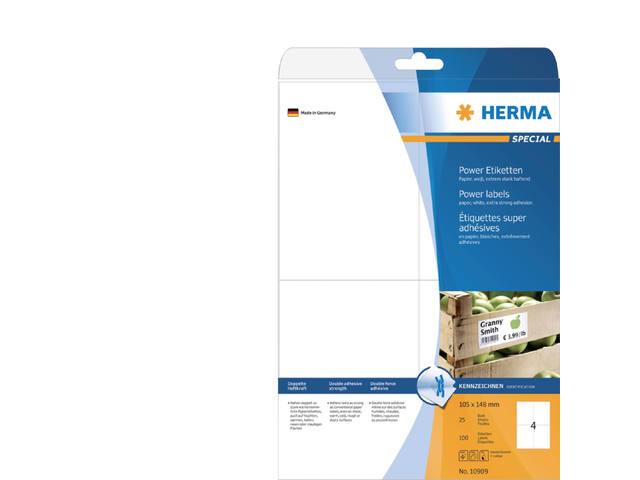 ETIKET HERMA 10909 105X148MM 100ST 1