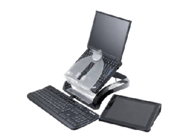 LAPTOP WERKSTATION FELLOWES INCL 4 AANSL VERSTELBR
