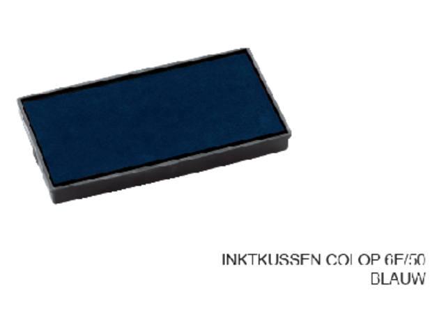 INKTKUSSEN COLOP 6E/50 BLAUW