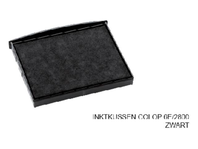 INKTKUSSEN COLOP 6E/2800 ZWART