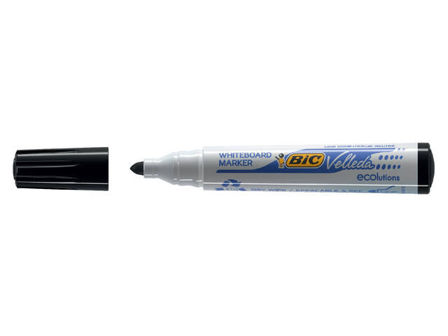VILTSTIFT BIC 1701 WHITEBOARD ROND 1.4MM ZWART