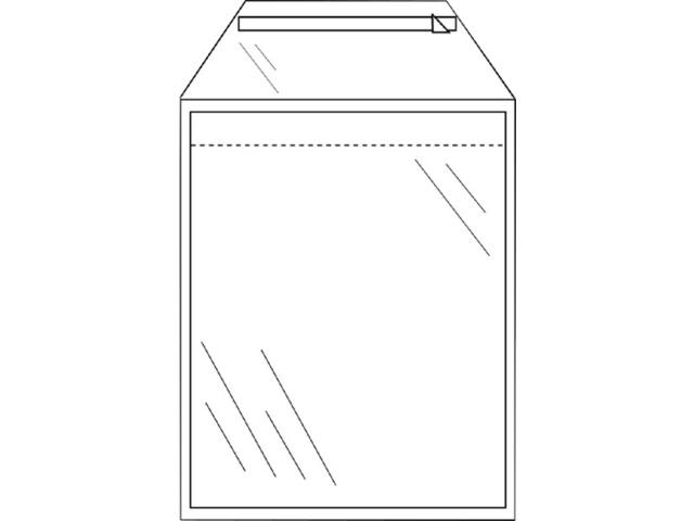 ENVELOP CLEVERPACK AKTE C5 165X220 ZK KLEP 50ST TR 1