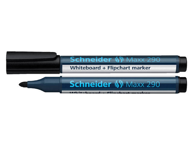 VILTSTIFT SCHNEIDER 290 WHITEBOARD ROND 2-3MM ZWART