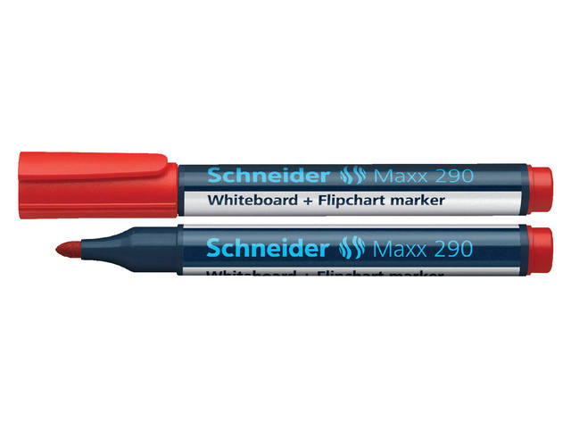 VILTSTIFT SCHNEIDER 290 WHITEBOARD ROND 2-3MM ROOD